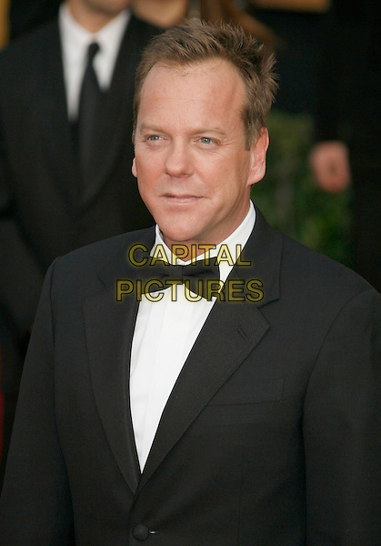 KIEFER SUTHERLAND.Red Carpet Arrivals - 13th Annual Screen Actors Guild (SAG) Awards, held at the Shrine Auditorium, Los Angeles, California, USA, 28 January 2007..half length bow tie keifer.CAP/ADM/RE.©Russ Elliot/AdMedia/Capital Pictures.