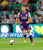 2nd February 2019, HBF Park, Perth, Australia; A League football, Perth Glory versus Wellington Phoenix; Christopher Ikonomidis of the Perth Glory