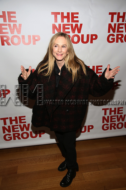 """Holly Hunter attends the Opening Night of The New Group World Premiere of """"All The Fine Boys"""" at the The Green Fig Urban Eatery on March 1, 2017 in New York City."""