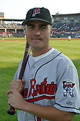 August 13, 2003:  Josh Renick of the New Britain RockCats during a game at Jerry Uht Park in Erie, Pennsylvania.  Photo by:  Mike Janes/Four Seam Images
