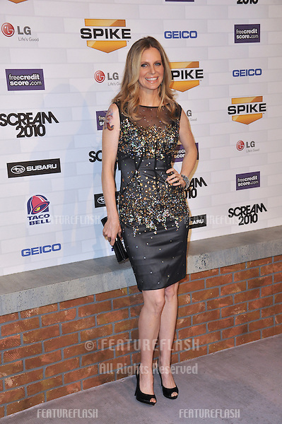 Kristin Bauer at Spike TV's 2010 Scream Awards at the Greek Theatre, Griffith Park, Los Angeles..October 16, 2010  Los Angeles, CA.Picture: Paul Smith / Featureflash