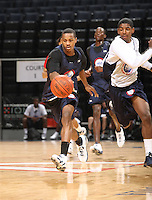 Keith Appling handles the ball during the 1st day of the 2009 NBPA Top 100 Basketball Camp held Friday June 18, 2009 in Charlottesville, VA. Photo/ Andrew Shurtleff