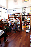 USA, California, San Francisco, browsing books at the City Lights Bookstore, North Beach
