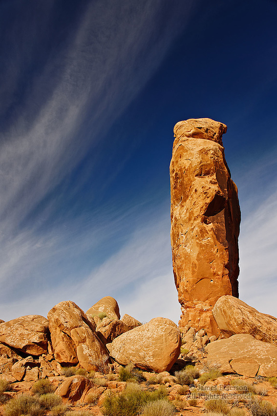 Chimney Rock, near Escalante, Utah