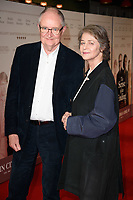 Jim Broadbent and Charlotte Rampling<br /> arriving for the premiere of &quot;The Sense of an Ending&quot; at the Picturehouse Central, London.<br /> <br /> <br /> &copy;Ash Knotek  D3244  06/04/2017