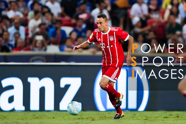 Bayern Munich Defender Rafinha de Souza in action during the International Champions Cup match between Chelsea FC and FC Bayern Munich at National Stadium on July 25, 2017 in Singapore. Photo by Marcio Rodrigo Machado / Power Sport Images