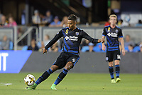 San Jose, CA - Wednesday September 27, 2017: Danny Hoesen during a Major League Soccer (MLS) match between the San Jose Earthquakes and the Chicago Fire at Avaya Stadium.