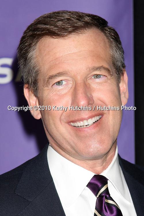 Brian Williams.arriving at the 2010 Winter NBC TCA Party .Langford Hotel.Pasadena, CA.January 10, 2010.©2010 Kathy Hutchins / Hutchins Photo....