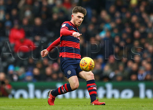 17th March 2018, Craven Cottage, London, England; EFL Championship football, Fulham versus Queens Park Rangers; Ryan Manning of Queens Park Rangers crossing the ball