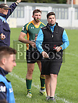 Boyne Coach Graeme Eastwood at the Boyne V Barnhill<br /> <br /> Photo - Jenny Matthews