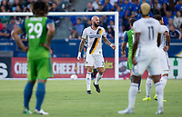 Carson, CA - Saturday July 29, 2017: Jelle Van Damme during a Major League Soccer (MLS) game between the Los Angeles Galaxy and the Seattle Sounders FC at StubHub Center.