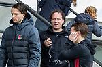 AMSTELVEEN - trainer Jan John van 't Land (Adam)    tijdens de hoofdklasse competitiewedstrijd heren, AMSTERDAM-ROTTERDAM (2-2). COPYRIGHT KOEN SUYK