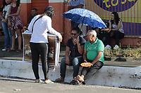 Capanema, Pará, Brasil. Retranca: Capanema - Corpus Christ - . Gancho: A tradição de confeccionar tapetes de serragem para a procissão de Corpos Christi já dura 43 anos em Capanema, no nordeste do Pará. A arte, feita especialmente para a procissão com o Santíssimo Sacramento, é de responsabilidade de jovens de comunidades católicas do município. Data: 20/06/2019. Local: Tv. Cel. Leandro Pinheiro - Capanema. Foto: Mauro Ângelo