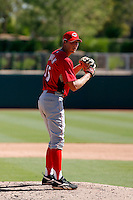 Andrew Bowman - Cincinnati Reds 2009 Instructional League. .Photo by:  Bill Mitchell/Four Seam Images..