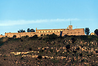 Montjuic Castle , Castillo de Montjuich, military fortress, Jewish Mountain, Barcelona, Spain