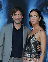"LOS ANGELES, CA July 12- Mark Duplass, Katie Aselton,  At Premiere Of HBO's ""Game Of Thrones"" Season 7 at The Walt Disney Concert Hall, California on July 12, 2017. Credit: Faye Sadou/MediaPunch"