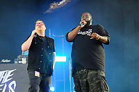 LONDON, ENGLAND - JUNE 30: El-P and Killer Mike of 'Run the Jewels' performing at Finsbury Park on June 30, 2018 in London, England.<br /> CAP/MAR<br /> &copy;MAR/Capital Pictures