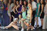 Douglas Webster (artistic director) host and also skated poses with competetors actress Sean Young and skaters at Ice Theatre of New York's Celeb Skate 2013 on June 9, 2013 at the Sky Rink at Chelsea Piers, New York City, New York. (Photo by Sue Coflin/Max Photos)