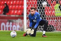 Preston North End's Declan Rudd<br /> <br /> Photographer Dave Howarth/CameraSport<br /> <br /> The EFL Sky Bet Championship - Stoke City v Preston North End - Wednesday 12th February 2020 - bet365 Stadium - Stoke-on-Trent <br /> <br /> World Copyright © 2020 CameraSport. All rights reserved. 43 Linden Ave. Countesthorpe. Leicester. England. LE8 5PG - Tel: +44 (0) 116 277 4147 - admin@camerasport.com - www.camerasport.com