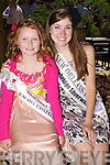 New Orleans Lizzy Wales with her rosebud Rachel Costello at the Carlton Hotel, Tralee on Friday.