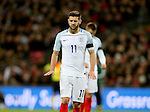 Adam Lallana of England makes a gesture during the FIFA World Cup Qualifying Group F match at Wembley Stadium, London. Picture date: November 11th, 2016. Pic David Klein/Sportimage