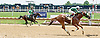 Indiana Moon winning at Delaware Park racetrack on 7/3/14