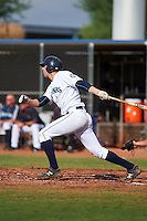 Seattle Mariners Ryan Uhl (4) during an instructional league intrasquad game on October 6, 2015 at the Peoria Sports Complex in Peoria, Arizona.  (Mike Janes/Four Seam Images)