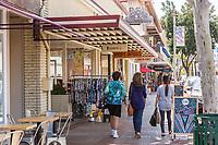 Shops on N. Glassell Street in Old Towne Orange