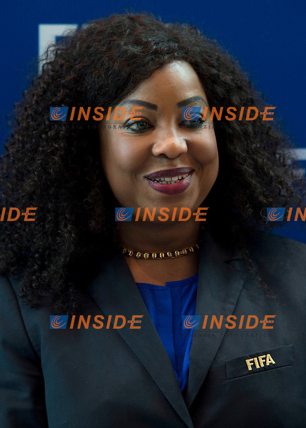 Zurigo 14-10-2016  Football FIFA - Council meeting; FIFA General Secretary Fatma Samba Diouf Samoura (SEN) at the FIFA headquarters in Zurich<br />  Foto Steffen Schmidt/freshfocus/Insidefoto ITALY ONLY