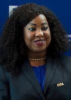Zurigo 14-10-2016  Football FIFA - Council meeting; FIFA General Secretary Fatma Samba Diouf Samoura (SEN) at the FIFA headquarters in Zurich<br />  Foto Steffen Schmidt/freshfocus/Insidefoto ITALY ONLY