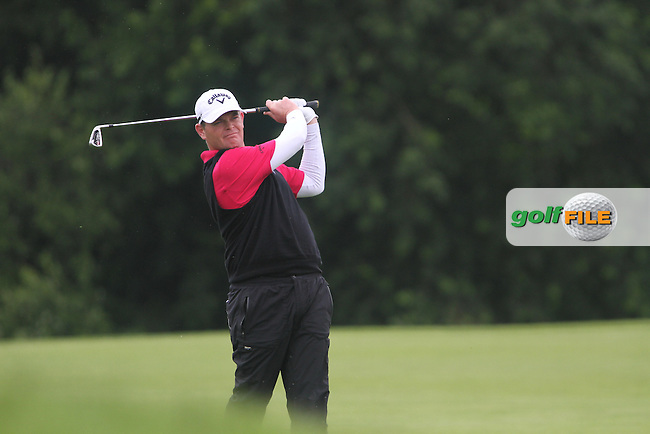 David Drysdale (ENG) on the 1st on Day 3 of the Alstom Open de France at Golf National,  Saint-Quentin-En-Yvelines, Paris, France, 7/7/12...(Photo Jenny Matthews/www.golffile.ie)