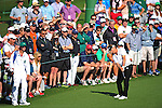 AUGUSTA, GA: APRIL 11 - Bernhard Langer of Germany during the second round of the 2014 Masters held in Augusta, GA at Augusta National Golf Club on Friday, April 11, 2014. (Photo by Donald Miralle)