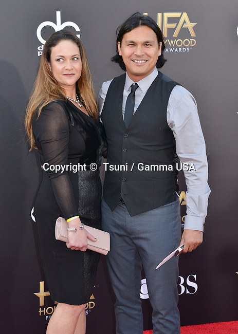 Adam Beach 133 at the Hollywood Film Awards 2014 at the Palladium on Nov. 14, 2014 in Los Angeles.