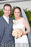 Edel Hickey, daughter of Donie and Joan, knocdubh, Cullen Co Cork, and Niall Cronin, son of Brendan and Margaret, Kiskeam, who were matrried on Saturday in The Church of Nativity, Cullen. John Canon Fitzgerald officated at the cermony. Best man was Donal Cronin and groomsman was Kieran Cronin. Bridesmaids were, Theresa Hickey and Lorraine Cronin. The reception was held in Ballygarry House Hotel & Spa, Tralee. The couple will reside Castletownbere, Co Cork.