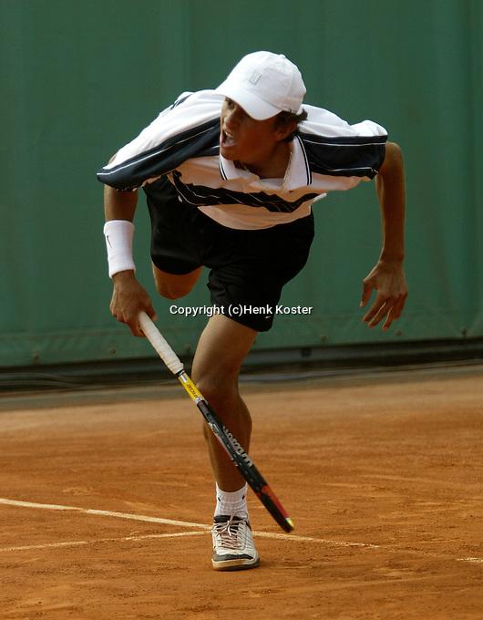 20030602, Paris, Tennis, Roland Garros, Benneteau