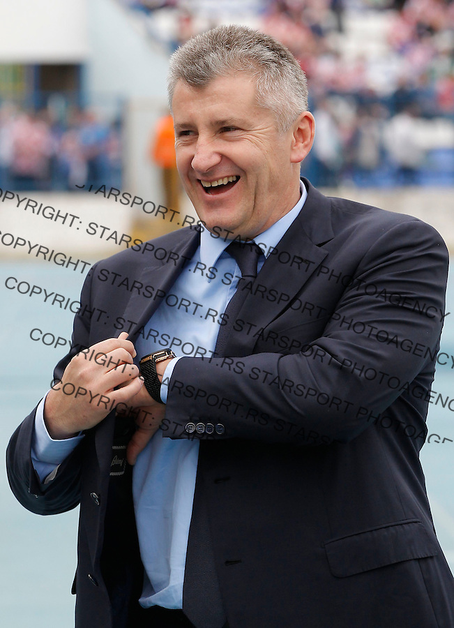 Fudbal Soccer<br /> Preparations for World Cup 2014 <br /> Croatia v Mali<br /> Davor Suker President of Croatia Football Federation<br /> Osijek, 05.31.2014<br /> foto: Srdjan Stevanovic/Starsportphoto &copy;