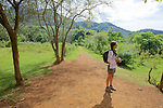 Debby Buzzard On Tat Kuang Si Trail