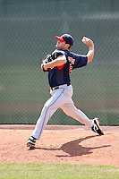 Bryce Stowell, Cleveland Indians 2010 minor league spring training..Photo by:  Bill Mitchell/Four Seam Images.