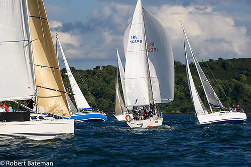 Yacht racing leagues have returned to Cork Harbour Photo: Bob Bateman