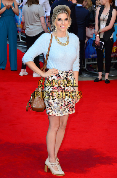Ashley James<br /> attends the 'What If'  of 'What If' at Odeon West End cinema  on August 12, 2014 in London, England<br /> CAP/JOR<br /> &copy;Nils Jorgensen/Capital Pictures