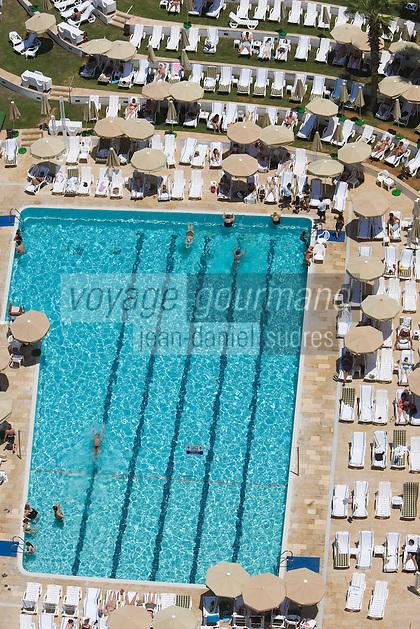 Asie/Israel/Tel-Aviv-Jaffa: Hotel Hilton Parc de l'Indépendance la piscine