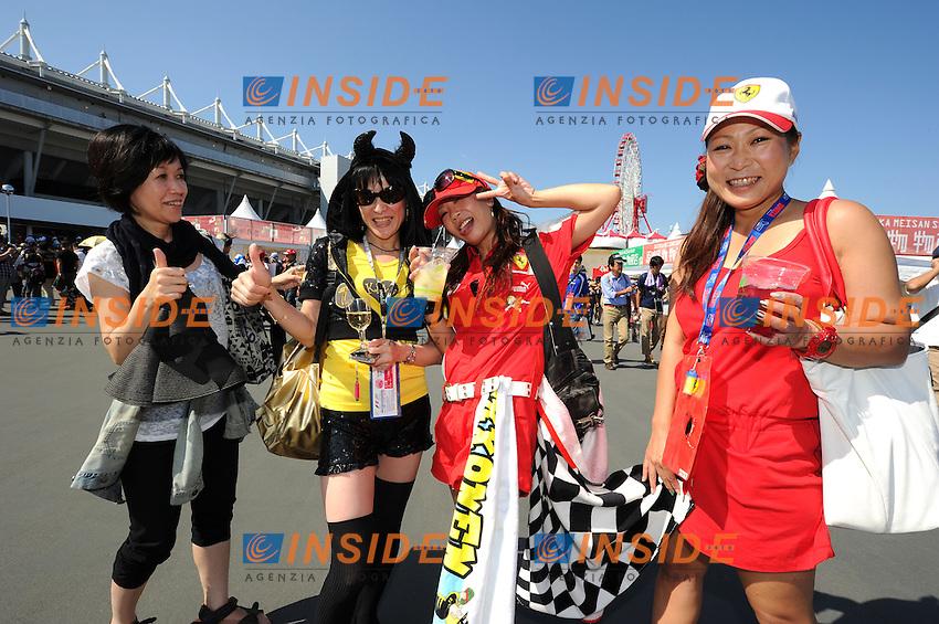 Tifosi <br /> Suzuka 13/10/2013 <br /> Formula 1 GP Giappone 2013  <br /> Foto Panoramic / Insidefoto