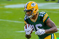 Green Bay Packers wide receiver DeAngelo Yancey (16) during a preseason football game against the Philadelphia Eagles on August 10, 2017 at Lambeau Field in Green Bay, Wisconsin. Green Bay defeated Philadelphia 24-9.  (Brad Krause/Krause Sports Photography)