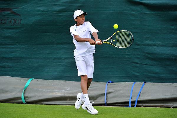HSBC Road to Wimbledon 2013. Rahul Dhokia