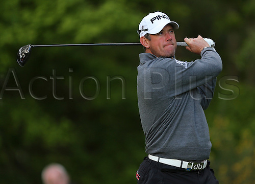 23.05.2013 Wentworth, Virginia Water, England. Lee Westwood (ENG) in action during the First Round of the 2013 BMW PGA Championship from Wentworth Golf Club.