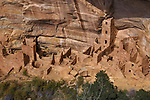 Square Tower House at Mesa Verde Nrional Park, Colorado, USA