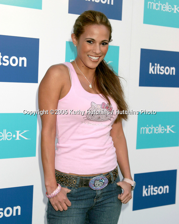 Bonnie - Jill  Laflin.Evangeline Lilly is celebrated as the New Face of Michelle K Footwear at a party at Kitson Boutique.W. Hollywood, CA.June 15, 2006.©2006 Kathy Hutchins / Hutchins Photo....