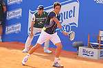 26.04.2014 Barcelona, Spain. ATP500 , Barcelona Open Banc Sabadell. Semi-final. Picture show Nicolas Almagro (ESP) in action at central court