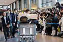 Japanese Olympic athletes return from PyeongChang