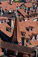 Medieval city center of Bern, Canton Bern, Switzerland
